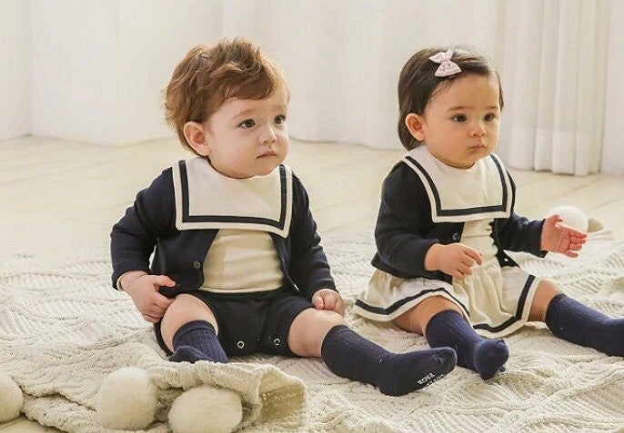 Image of Nautical set (with cardigan)
