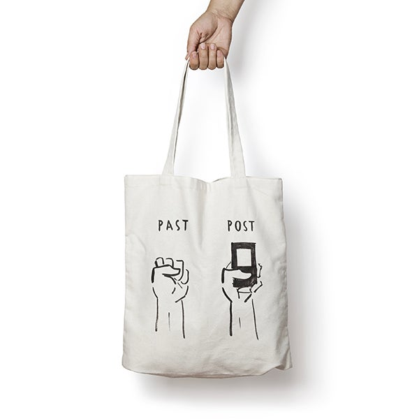Image of ESCIF / PAST POST tote bag