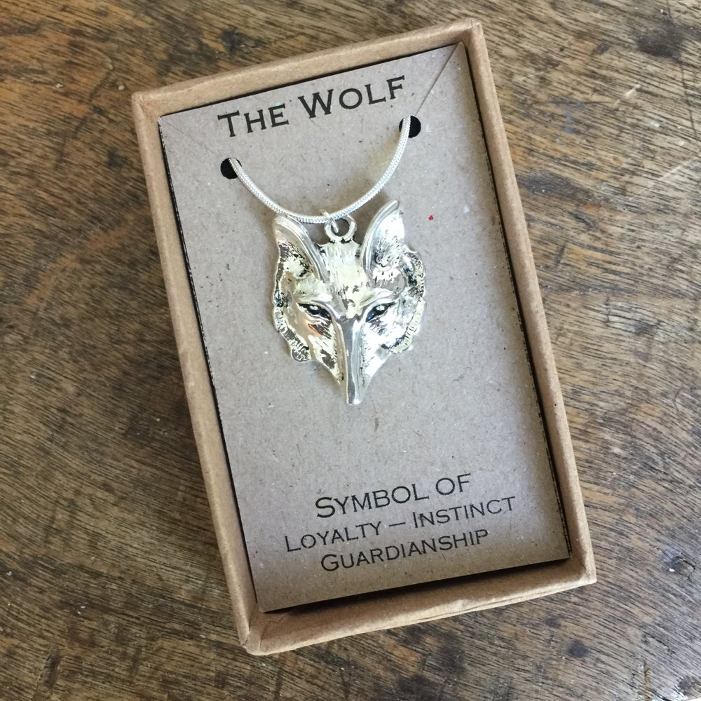 Image of Wolf sprit necklace