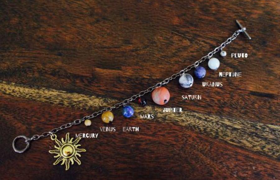 Image of Solar system bracelet
