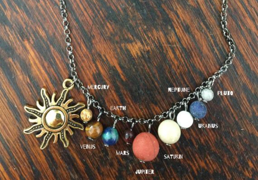 Image of Solar system necklace