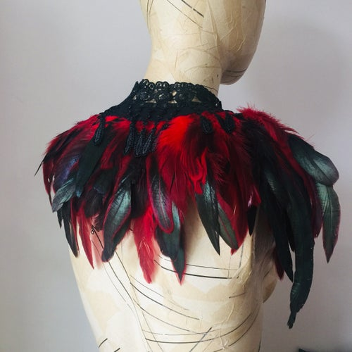 Image of Red Feather collar