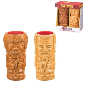 Image of Pulp Fiction Geeki Tikis Jules and Vincent double pack