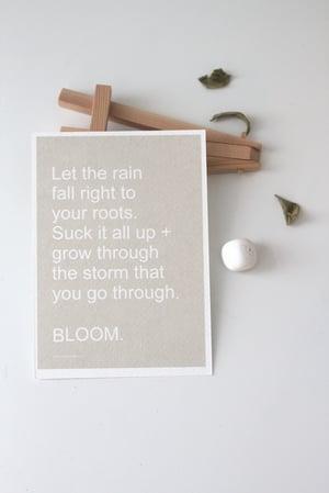 Image of BLOOM  \\ A6 Affirmation Card