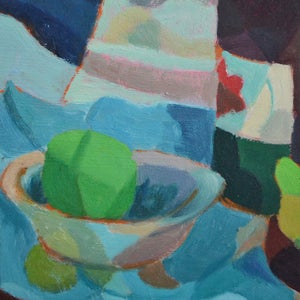 Image of Painting, 'Bottle and Olive Jar,' Horas Kennedy (1917-1997)