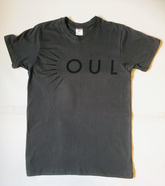 Image of OUL Dark Wave T-Shirt + singned sticker