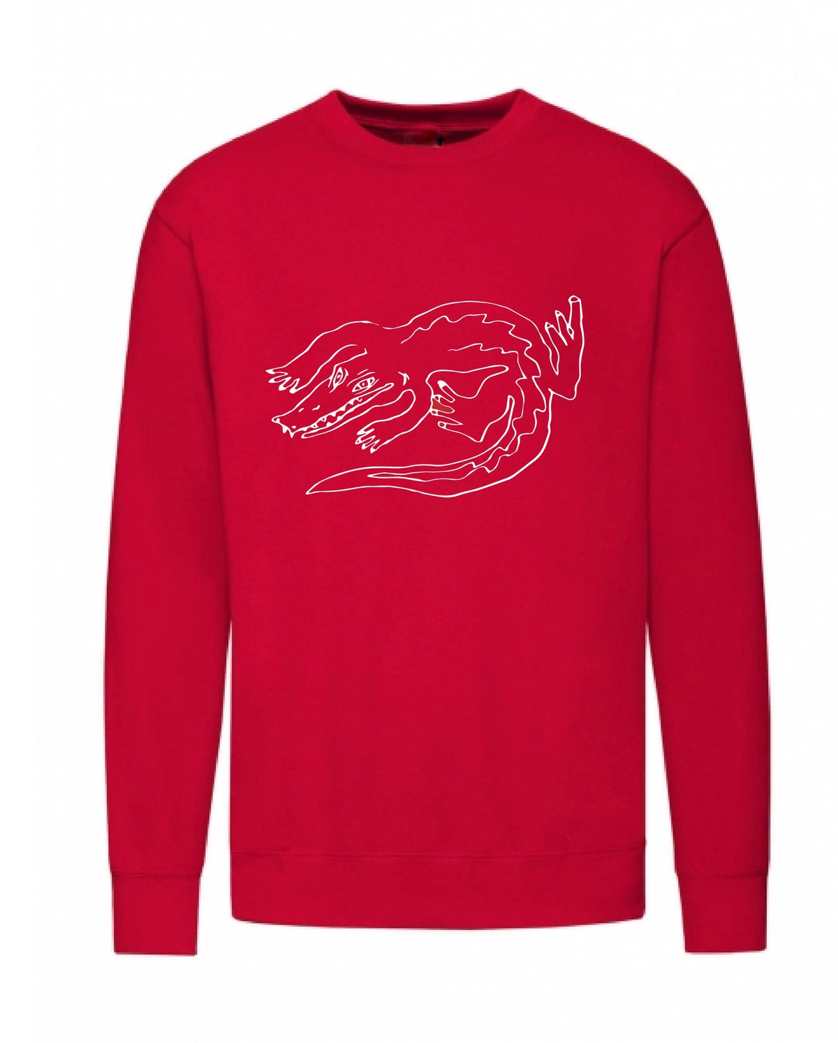 Image of The  red Crocodile