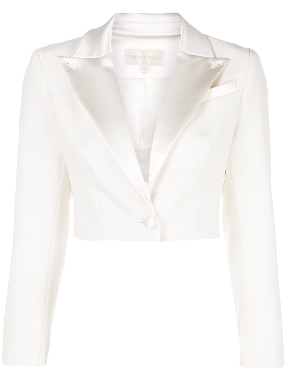 Image of Cropped Tailored Blazer