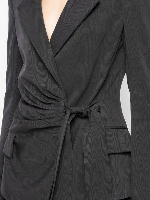 Image of Wrap Front Blazer