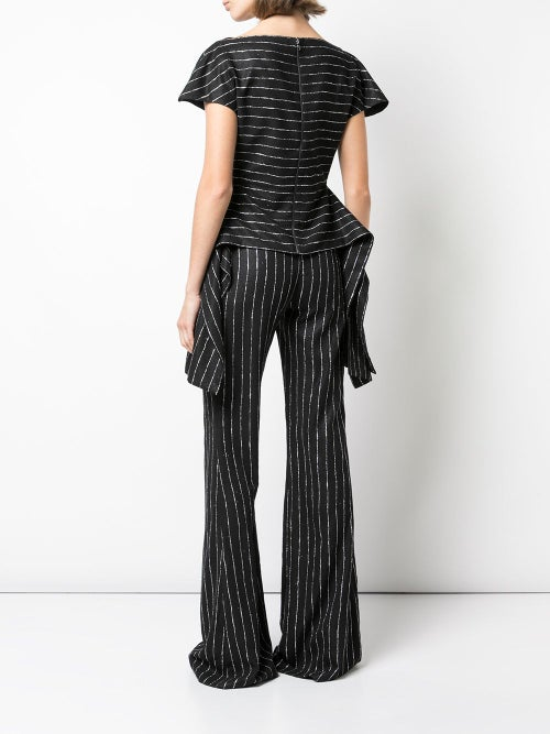 Image of Glitter Pinstripe Top