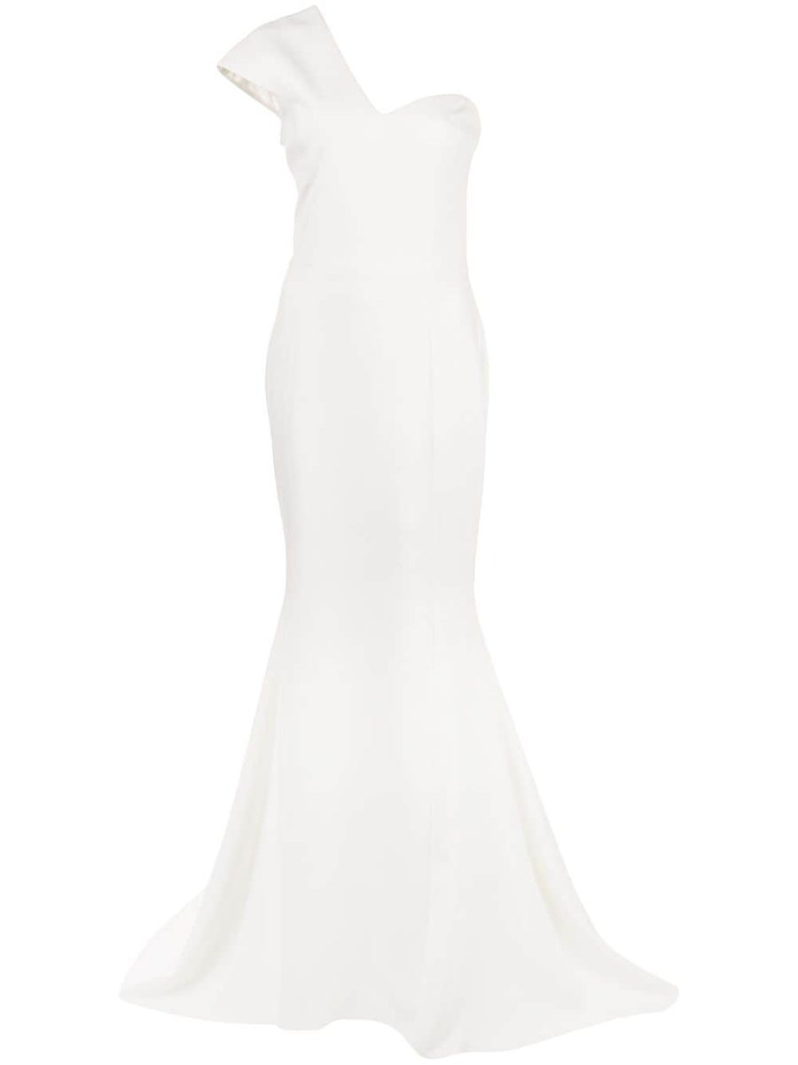 Image of One Shoulder Gown