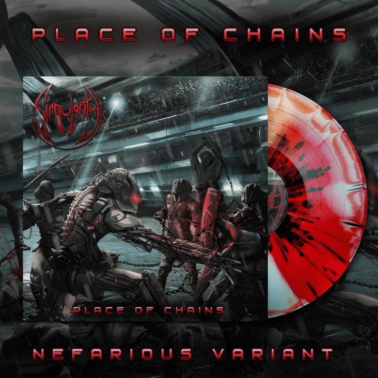 Image of SINGULARITY - Place of Chains LP [Nefarious]