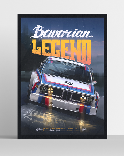Image of Bavarian Legend Carousel Limited Edition Poster (PRE-ORDER ONLY)