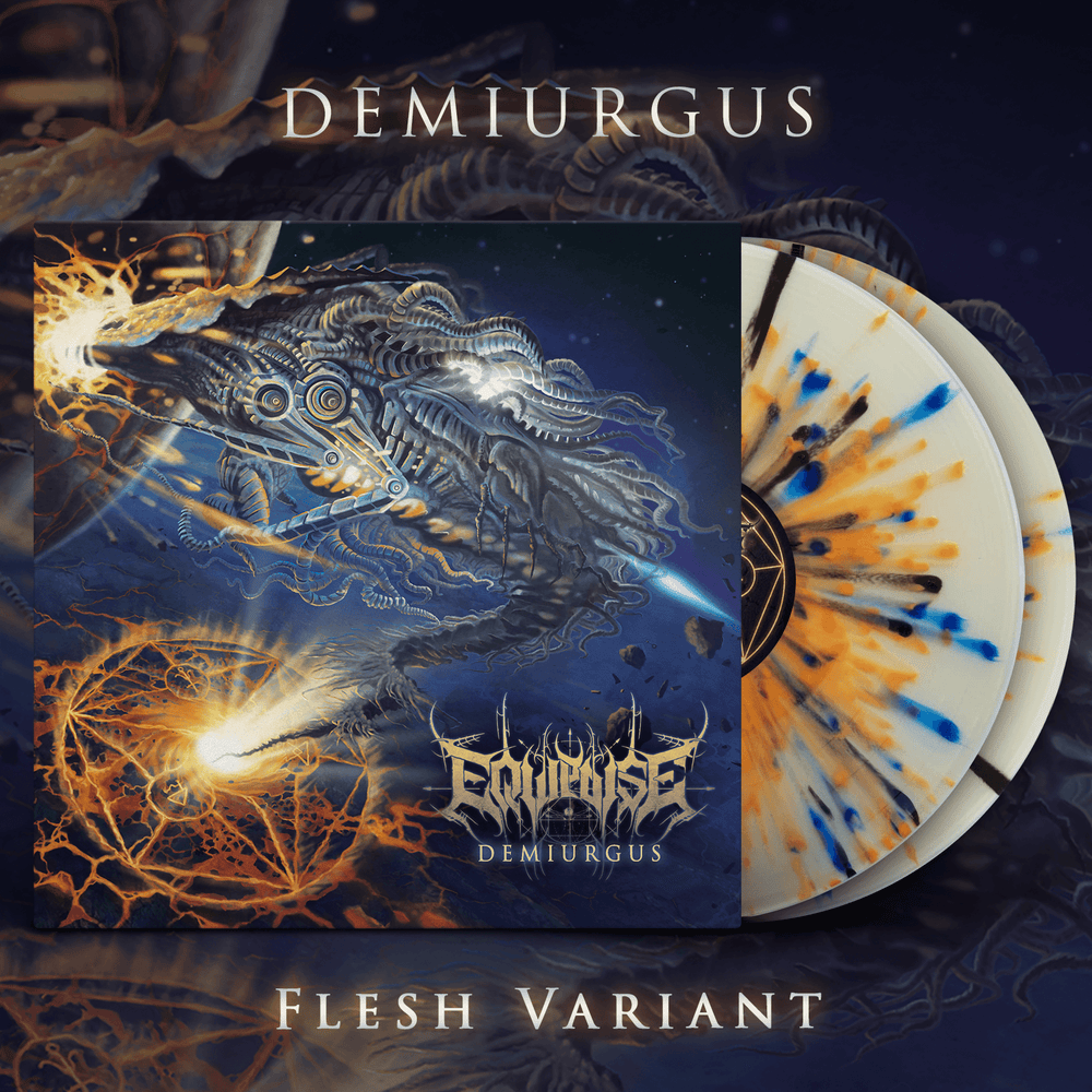 Image of EQUIPOISE - Demiurgus Double LP | Flesh Variant