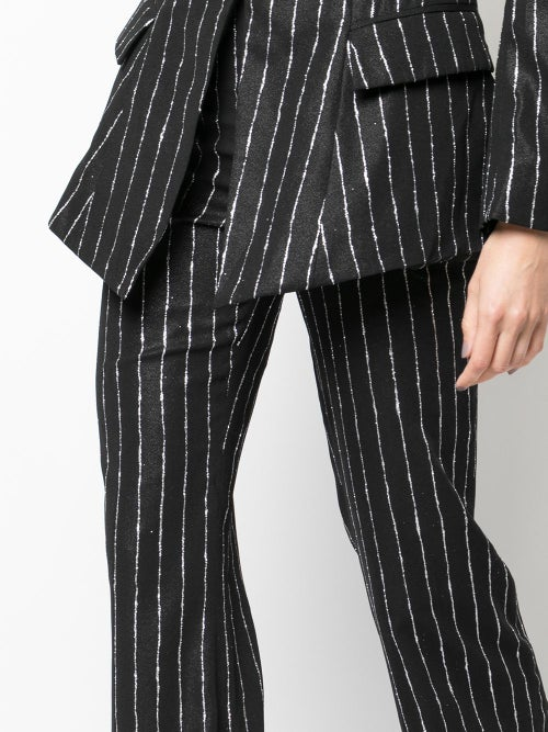 Image of Glitter Pinstripe Trousers
