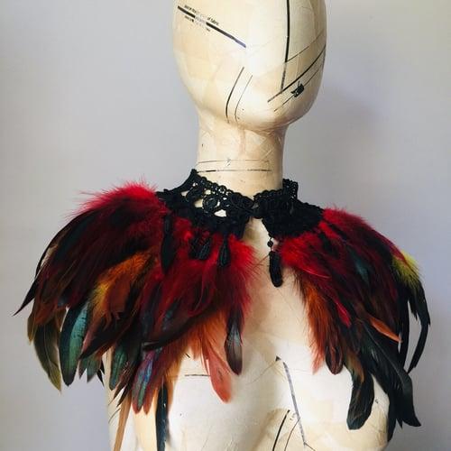 Image of Phoenix feather collar
