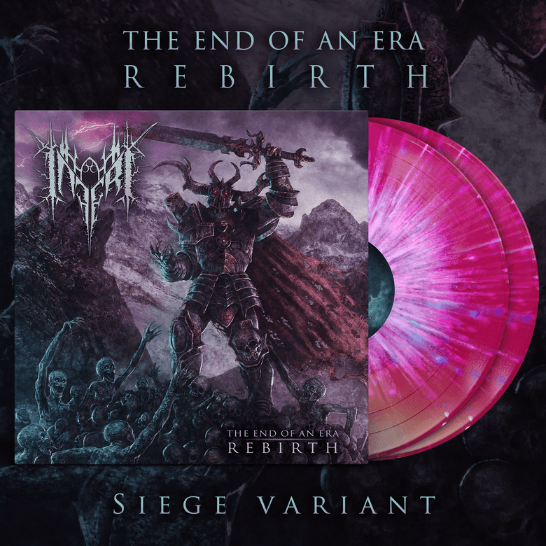Image of INFERI - The End of an Era | Rebirth - LP [Siege]