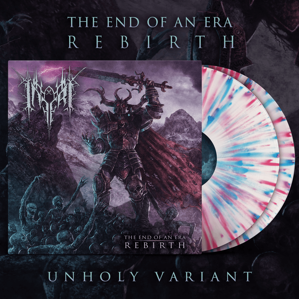 Image of INFERI - The End of an Era | Rebirth - LP [Unholy]