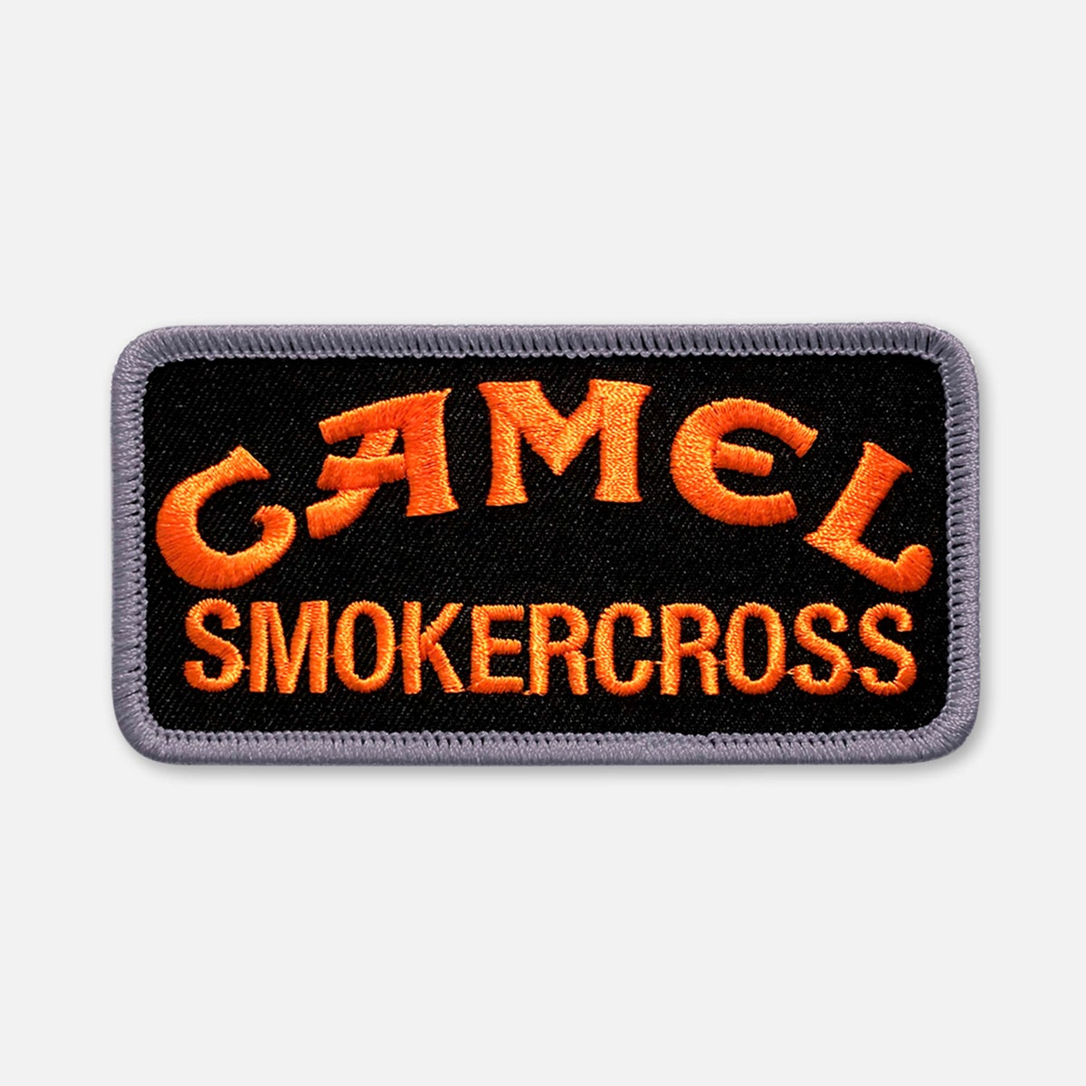 Image of SMALL SIZE CAMEL SMOKERCROSS PATCH