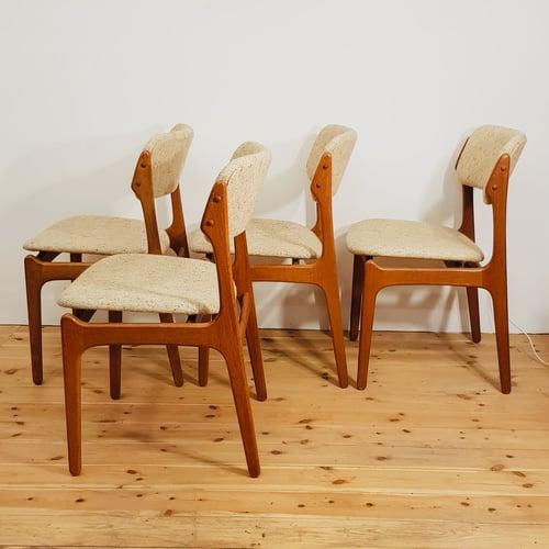 Image of Lote de 4 sillas, Erik Buch