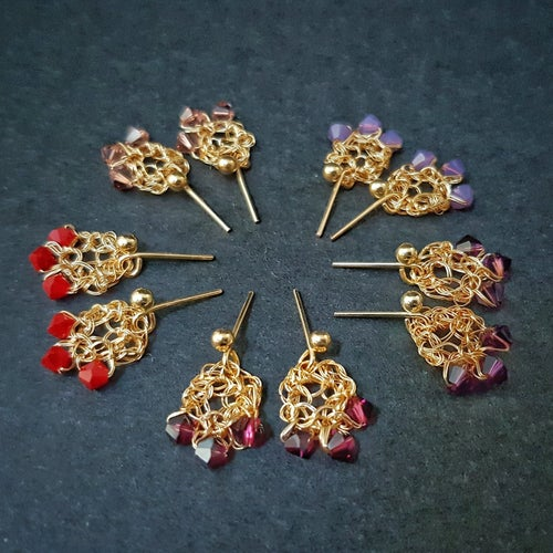 Image of GOLD DEWDROP Earrings