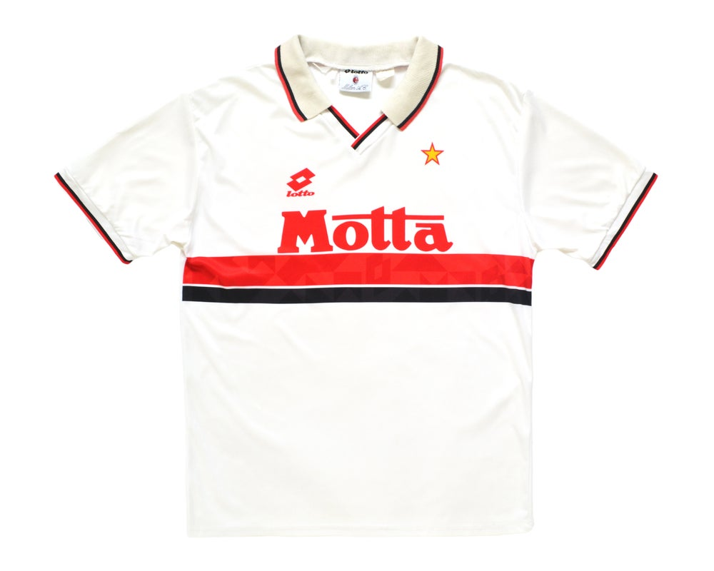 Image of 1993-94 Lotto AC Milan Away Shirt L