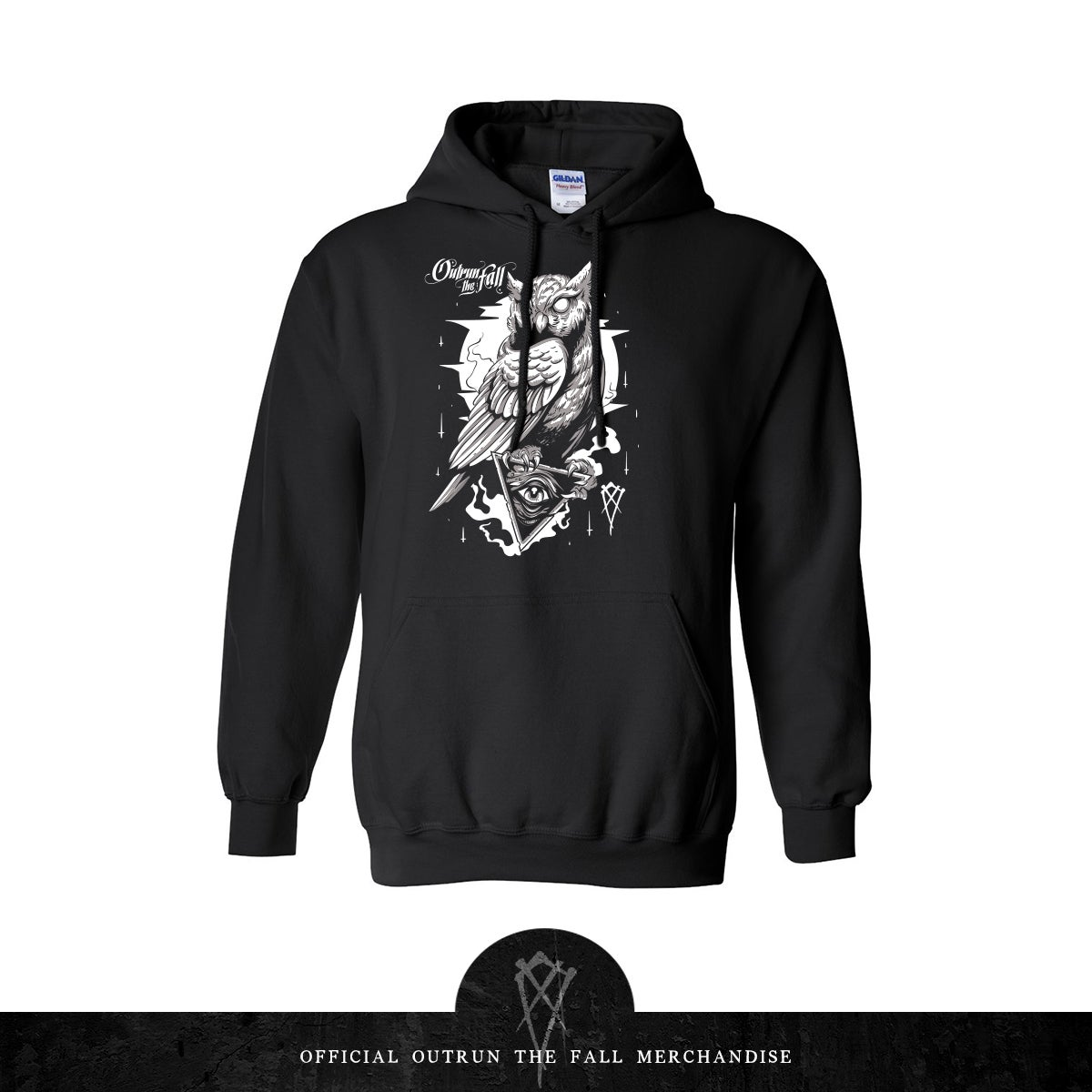 Image of Outrun The Fall | Accept Your Fate Hoodie