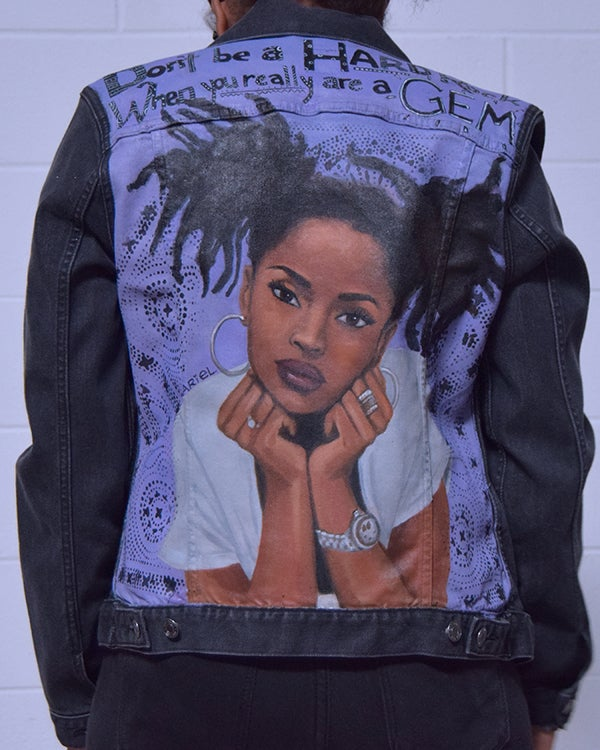 Image of Be a Gem: Lauryn Hill inspired Denim Jacket