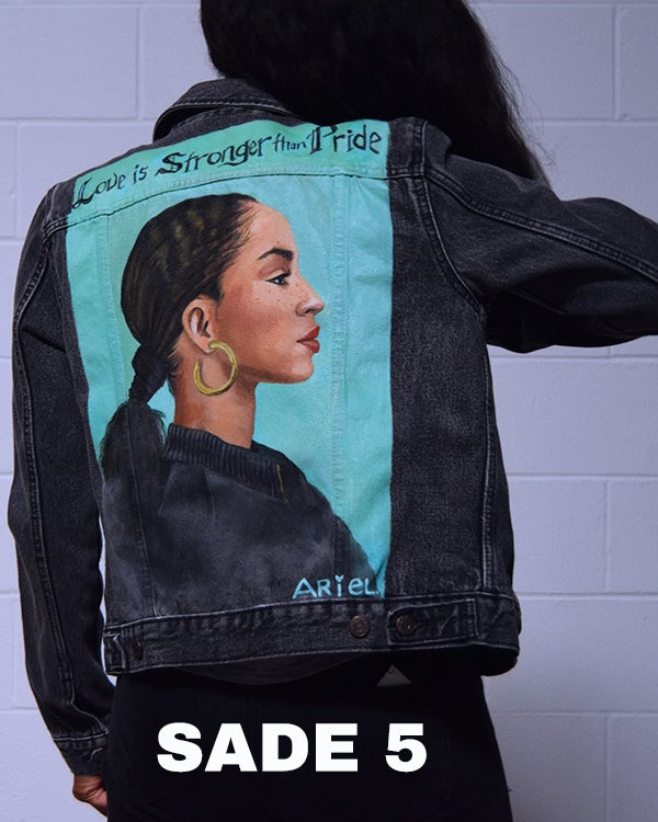 Image of 3 Different Sade Denim Jackets