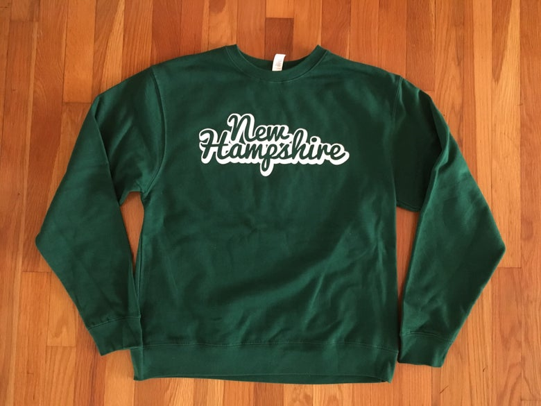 Image of NH green crew neck