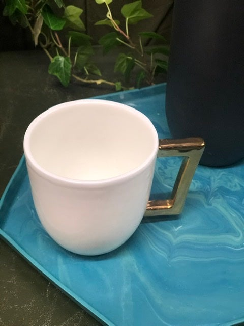 Image of Gold lustre cup