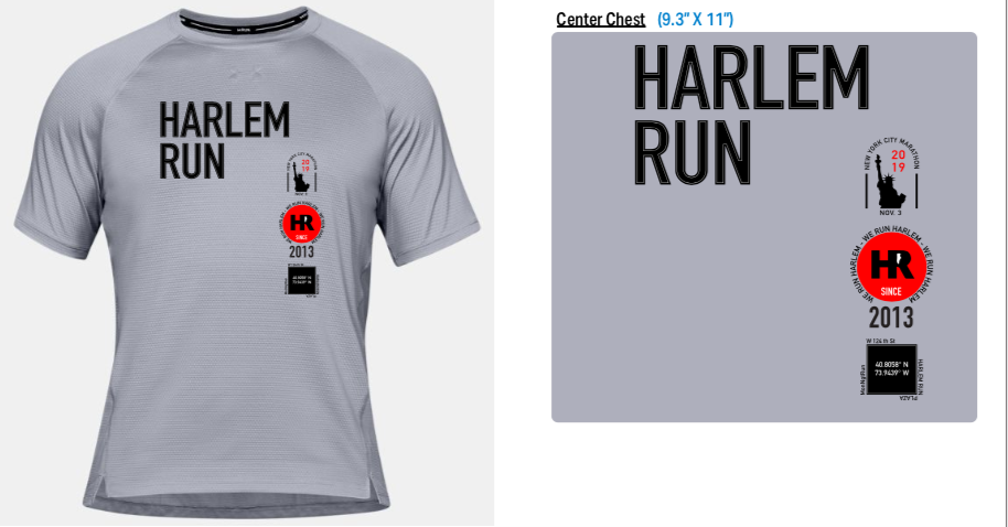 Image of 2019 Official NYCM Shirt by Marissa Morales