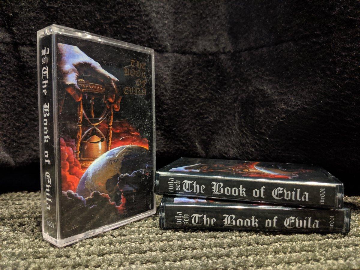 "Image of Evila Seh - ""The Book of Evila"" - Official Bootleg Cassette"