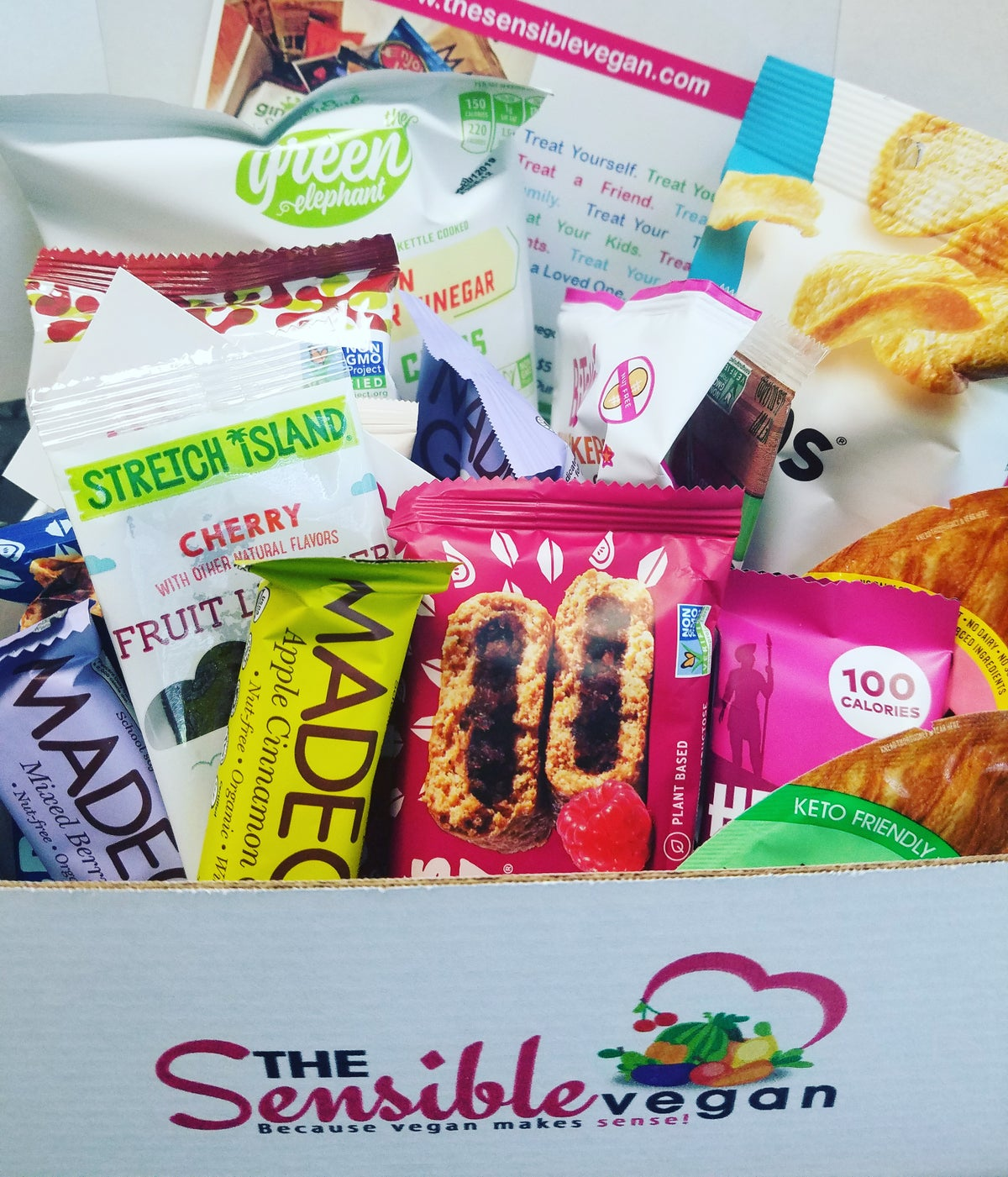 Image of The Sensible Snack Box (15 snacks)