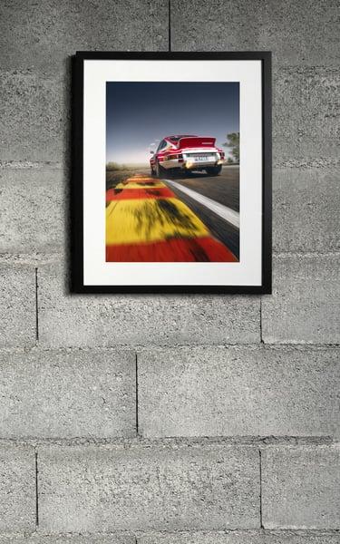 Image of Porsche 911RSR print