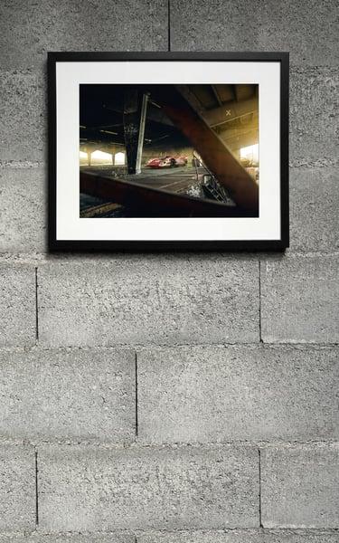 Image of Porsche 917 Urbex print
