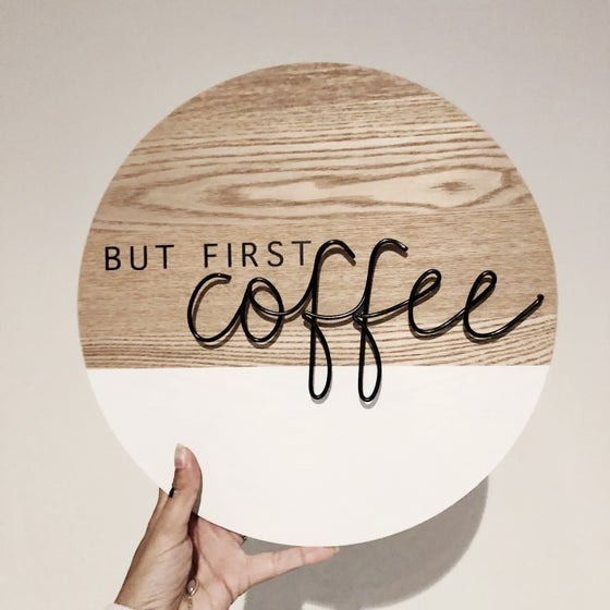 Image of But first coffee