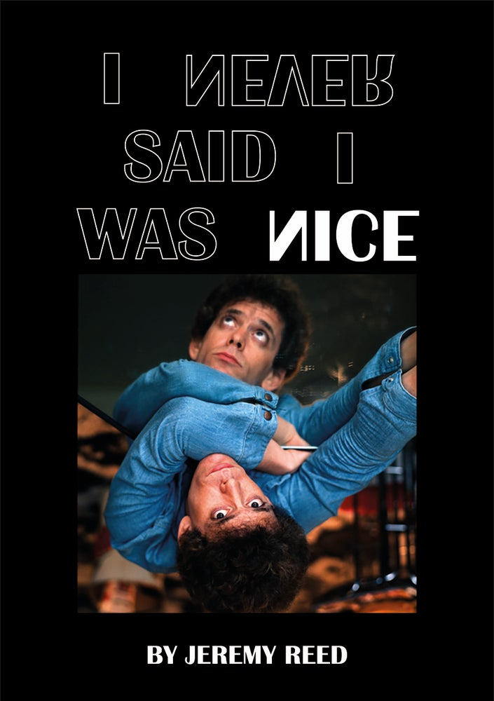Image of I Never Said I Was Nice by Jeremy Reed