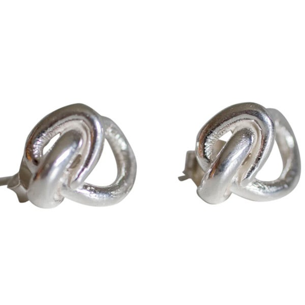 Image of Small squiggle earrings