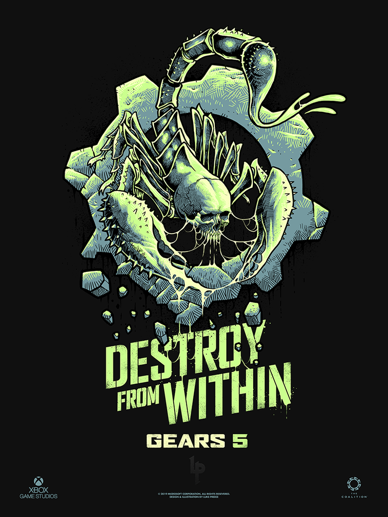 Image of GEARS 5 - ESCAPE 'GLOW IN THE DARK' EDITION