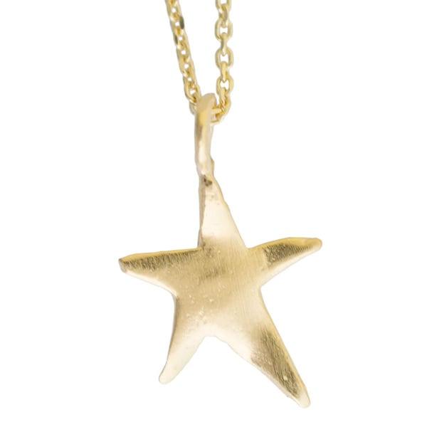 Image of Ziggy star charm necklace