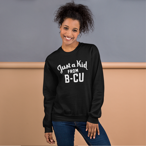 Image of A Kid From B-CU Sweatshirt (Black)