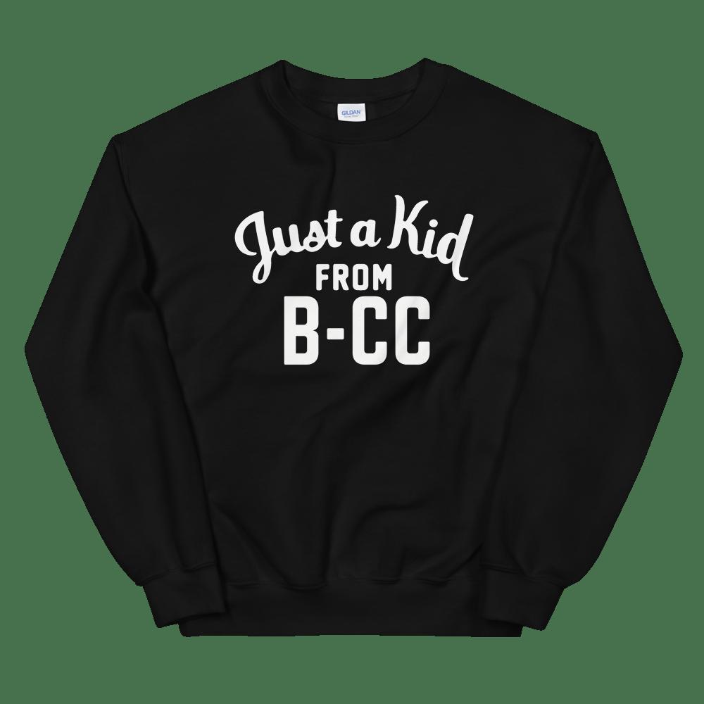 Image of A Kid From B-CC Sweatshirt (Black)