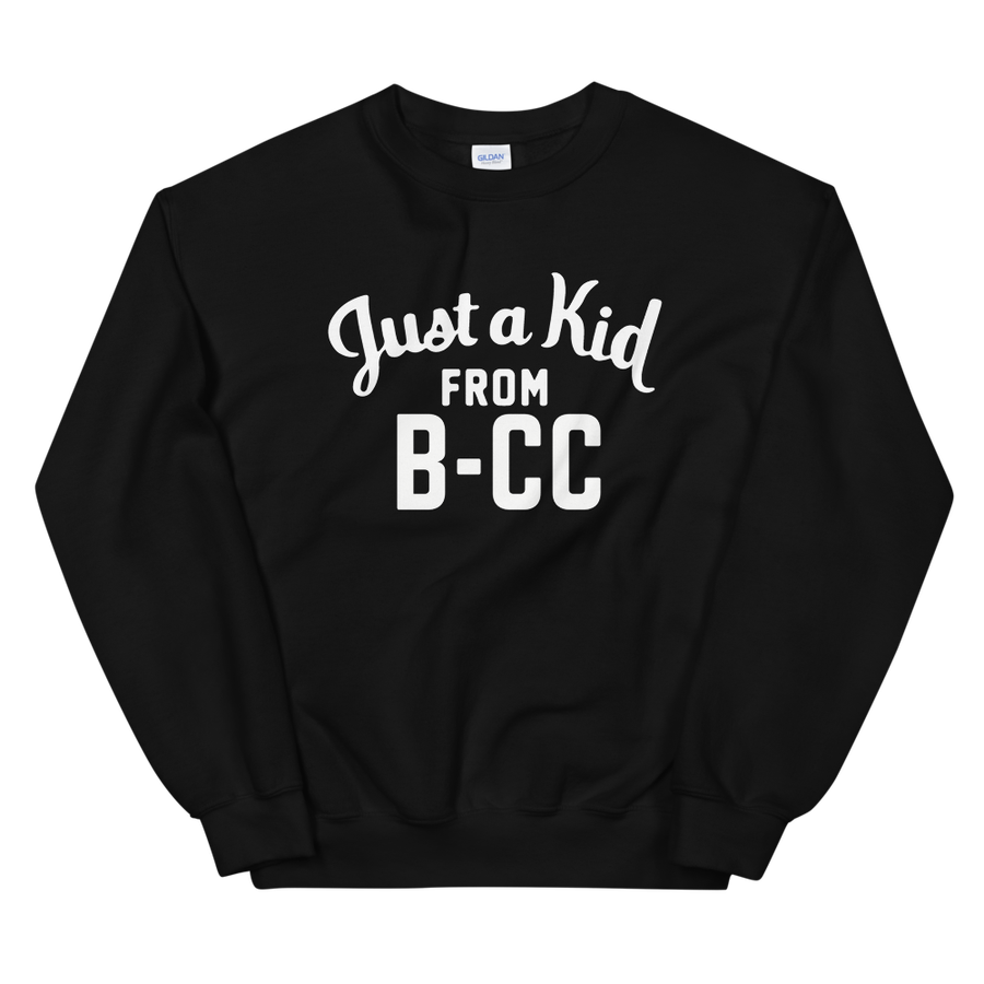 Image of A Kid From B-CC Sweatshirt (Black)