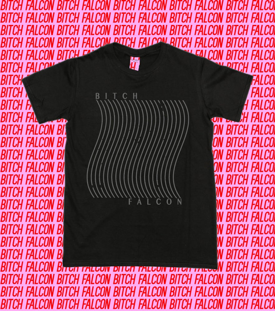 Image of Bitch Falcon Wave tee