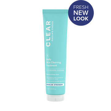 Image of CLEAR REGULAR STRENGTH DAILY SKIN CLEARING TREATMENT WITH 2.5% BENZOYL PEROXIDE