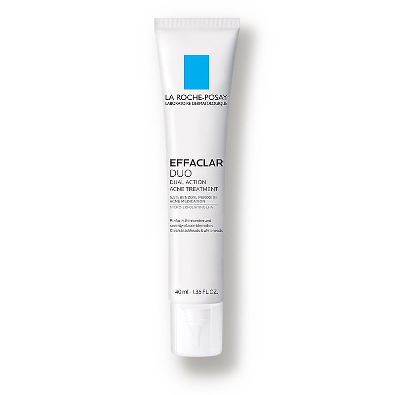 Image of LA ROCHE POSAY LABORATOIRE DERMATOLOGIQUE EFFACLAR DUO ACNE TREATMENT- Benzoyl Peroxide Lotion