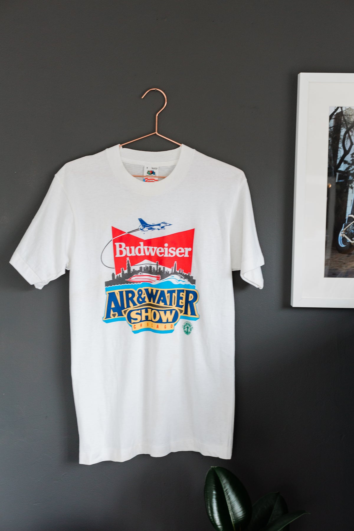 Image of Vintage Budweiser Air&Water Show Tee