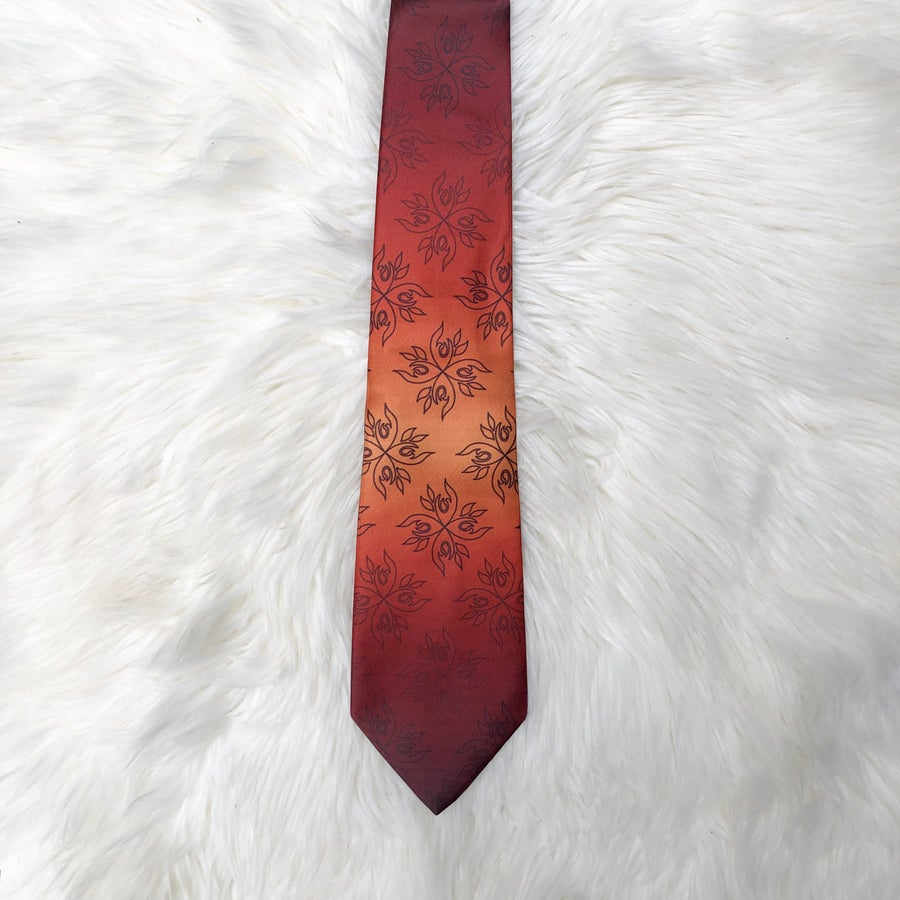 Image of Gradient Fire Necktie