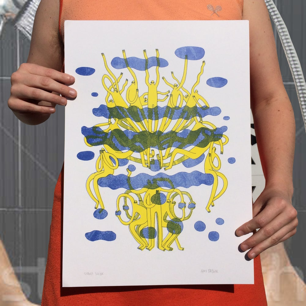 Image of Shower A3 Riso